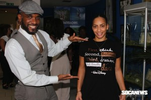 Phoenix James at Miss Barbados UK 2016 Official Press Launch & 'Through Their Eyes' exhibition at Barbados Marketing Tourism Inc 1