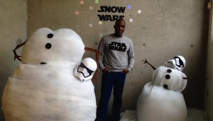 Phoenix James at the Hackney Picturehouse for Star Wars The Force Awakens