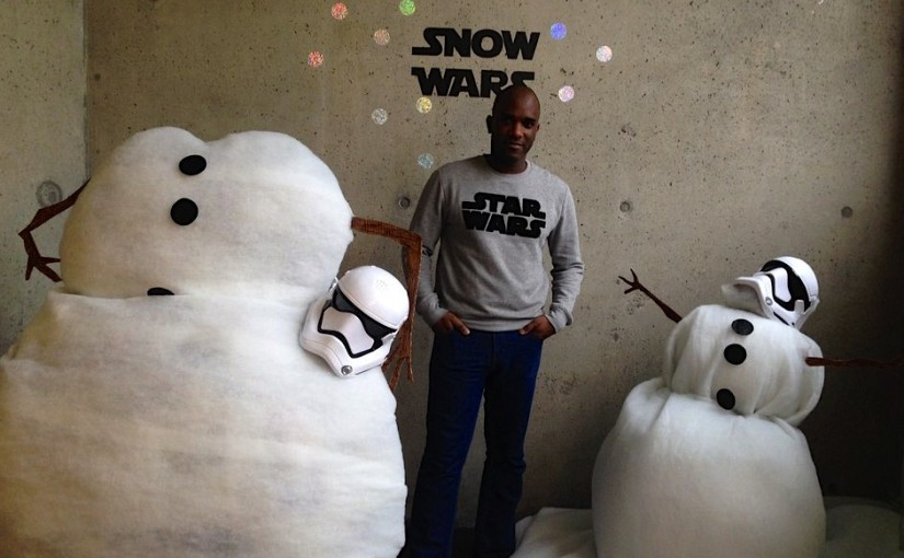 Phoenix James at Hackney Picturehouse for Star Wars: The Force Awakens