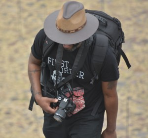 Phoenix James at the Teotihuacan Pyramids and The National Museum of Anthropology in Mexico 1