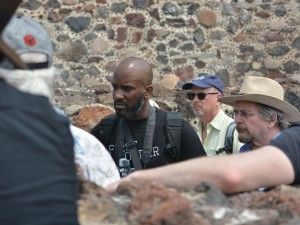 Phoenix James at the Teotihuacan Pyramids and The National Museum of Anthropology in Mexico 12