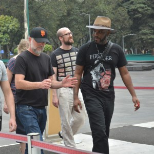 Phoenix James at the Teotihuacan Pyramids and The National Museum of Anthropology in Mexico 14