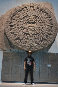 Phoenix James at the Teotihuacan Pyramids and The National Museum of Anthropology in Mexico  21