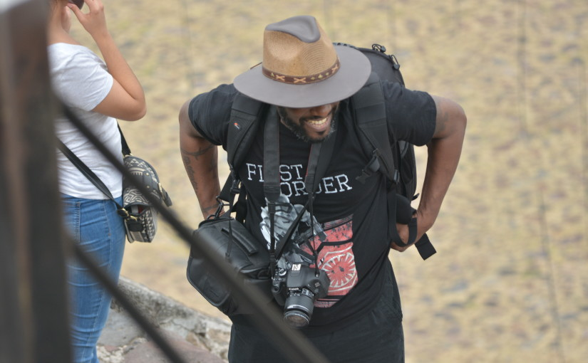 Phoenix James visits the Teotihuacan Pyramids in Mexico