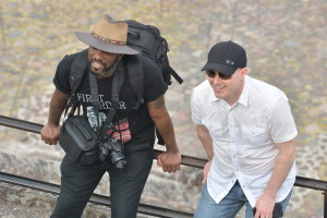 Phoenix James at the Teotihuacan Pyramids and The National Museum of Anthropology in Mexico 4