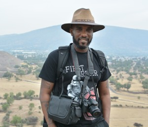 Phoenix James at the Teotihuacan Pyramids and The National Museum of Anthropology in Mexico 6