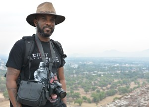 Phoenix James at the Teotihuacan Pyramids and The National Museum of Anthropology in Mexico 7
