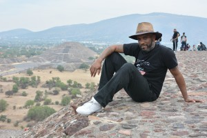 Phoenix James at the Teotihuacan Pyramids and The National Museum of Anthropology in Mexico 9