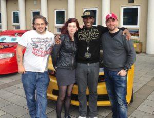 Phoenix James at Wycombe Comic Con 4