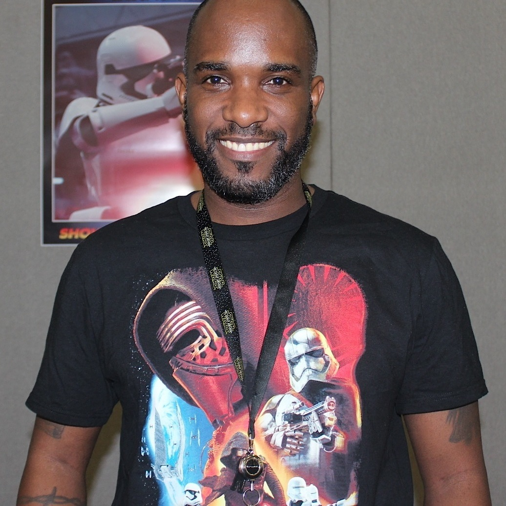 Phoenix James - Autograph Signing at Showmasters London Film and Comic Con - Star Wars First Order Stormtrooper Actors