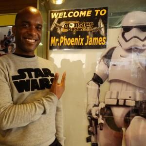 Phoenix James - First Order Stormtrooper Actors - Autograph Signing Tour in Tokyo, Japan 13 Episode 7 8 9 VII VIII IX