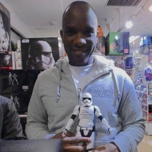Phoenix James - First Order Stormtrooper Actors - Autograph Signing Tour in Tokyo, Japan 16 Episode 7 8 9 VII VIII IX
