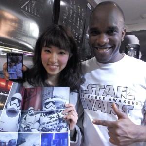 Phoenix James - First Order Stormtrooper Actors - Autograph Signing Tour in Tokyo, Japan 17 Episode 7 8 9 VII VIII IX