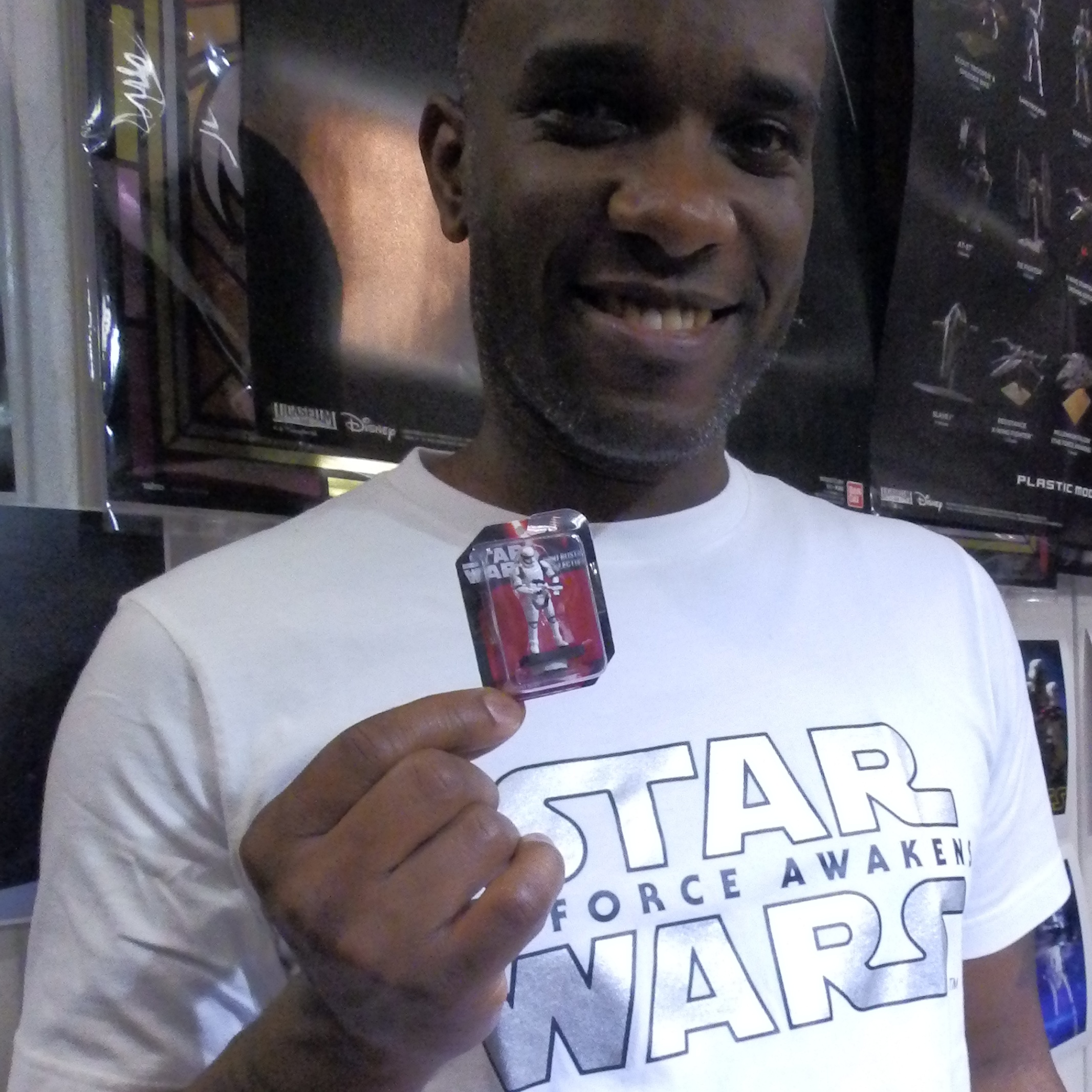 Phoenix James - First Order Stormtrooper Actor - Autograph Signing Tour in Tokyo, Japan 18