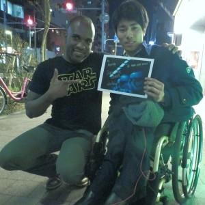Phoenix James - First Order Stormtrooper Actor - Autograph Signing Tour in Tokyo, Japan 19 Episode 7 8 9 VII VIII IX