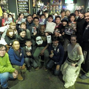 Phoenix James - First Order Stormtrooper Actor - Autograph Signing Tour in Tokyo, Japan 20