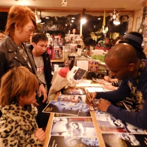 Phoenix James - First Order Stormtrooper Actor - Autograph Signing Tour in Tokyo, Japan 4