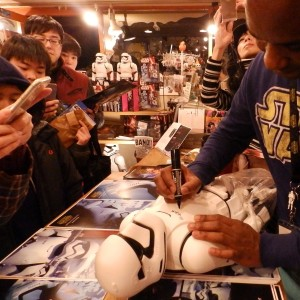 Phoenix James - First Order Stormtrooper Actor - Autograph Signing Tour in Tokyo, Japan 5