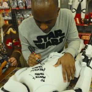 Phoenix James - First Order Stormtrooper Actors - Autograph Signing Tour in Tokyo, Japan 7 Episode 7 8 9 VII VIII IX