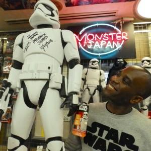 Phoenix James - First Order Stormtrooper Actors - Autograph Signing Tour in Tokyo, Japan 8 Episode 7 8 9 VII VIII IX