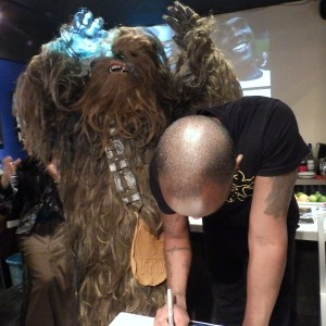 Phoenix James - First Order Stormtrooper Actor - Autograph Signing Tour in Tokyo, Japan 9