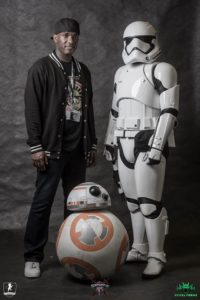 Phoenix James - Star Wars Episode 7 8 9 VII VIII IX First Order Stormtrooper Actor - Role Play Convention 2016 - Photo courtesy of Hydra Forge and Dornhöfer Photography