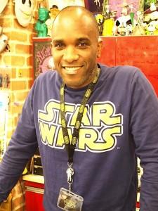 Phoenix James - First Order Stormtrooper Actors - Star Wars - Bandit-Selected Toys store - Tokyo Japan Episode 7 8 9 VII VIII IX
