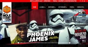 Phoenix James - First Order Stormtrooper Actors - Star Wars - The Force Awakens - La Mole Comic Con - Mexico DF