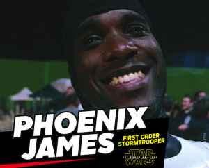 Phoenix James - First Order Stormtrooper Actors - Star Wars - The Force Awakens - La Mole Comic Con - Mexico_DF