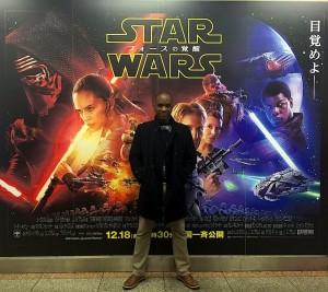 Phoenix James - First Order Stormtrooper Actors - Star Wars - The Force Awakens - Tokyo Underground Subway - Japan