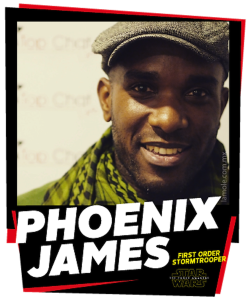 Phoenix James - First Order Stormtrooper Actors - The Force Awakens - La Mole Comic Con - Mexico DF