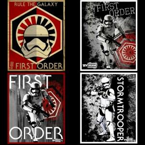 Phoenix James - First Order Stormtrooper - Autograph Signing Cards by Mathilde Machuel at Star Wars Design