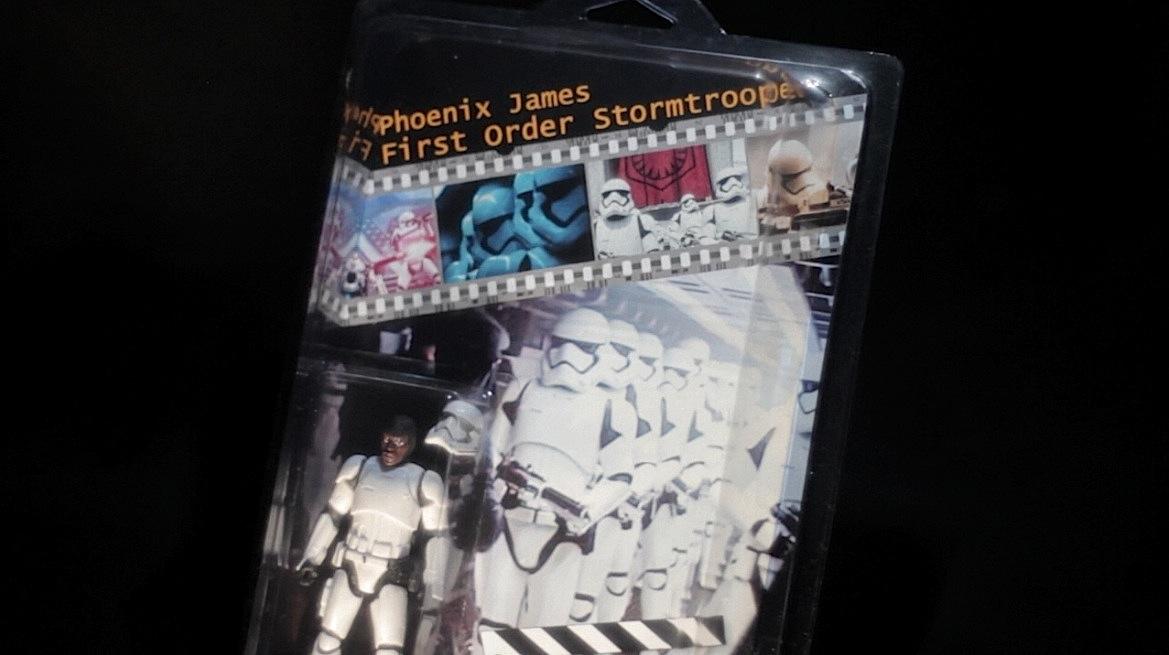 Phoenix James - First Order Stormtrooper Commemorative Star Wars Figure 2