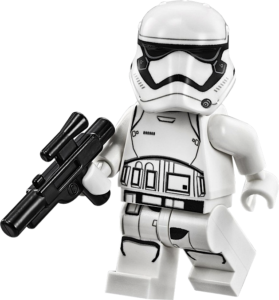 Phoenix James - First Order Stormtrooper in LEGO Star Wars The Force Awakens Video Game