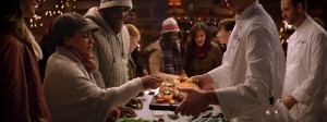 Phoenix James in Asda Christmas TV commercial