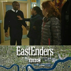 Phoenix James in EastEnders on BBC One television