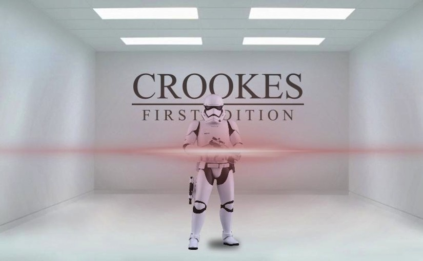 Phoenix James - Interview in First Edition of Crookes Online Magazine - AdamCrookes.com - First Order Stormtrooper Actor Episode 7 8 9 VII VIII IX