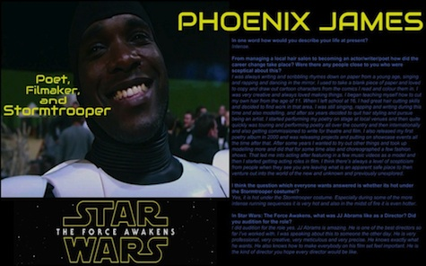Phoenix James - Interview in First Edition of Crookes Online Magazine - Preview 1 - AdamCrookes.com