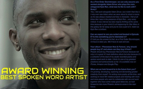 Phoenix James - Interview in First Edition of Crookes Online Magazine - Preview 2 - AdamCrookes.com