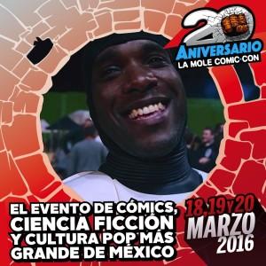 Phoenix James La Mole Comic Con Mexico