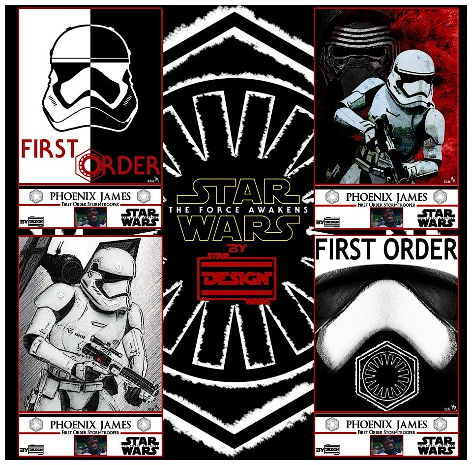 Phoenix James - Limited Edition - First Order Stormtrooper ...