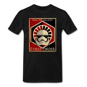 Phoenix James - Rule The Galaxy - First Order -Stormtrooper T-Shirt - Star Wars Design - Mathilde Machuel