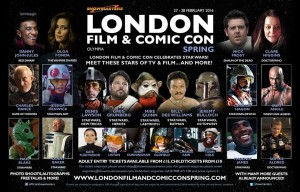 Phoenix James - Star Wars Celebration - Autograph Signing - Showmasters - London Film & Comic Convention - Olympia