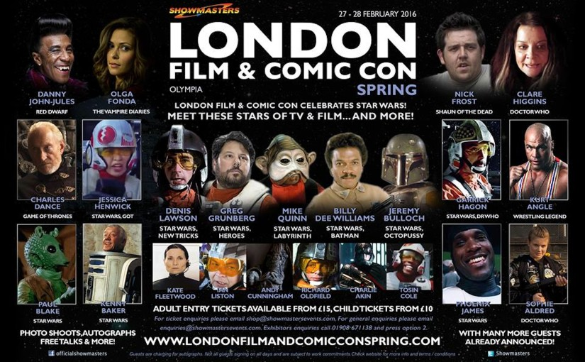 Phoenix James appearing at London Film and Comic Con Spring at London Olympia