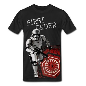 Phoenix James - Star Wars Episode VII The Force Awakens - First Order Stromtrooper T-Shirt