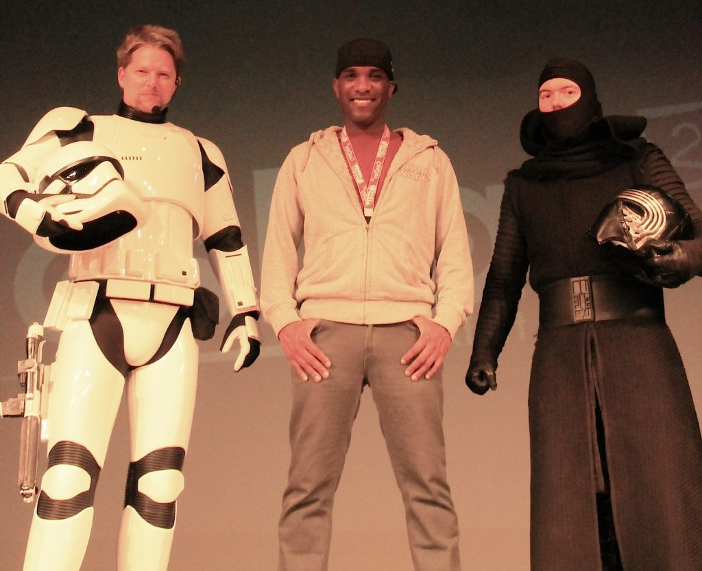 Phoenix James - Star Wars - First Order Stormtrooper Actor and Guest of Honor at CosDay Convention in Frankfurt Germany in conjunction with ProjectX1 and the 501st German Garrison 1