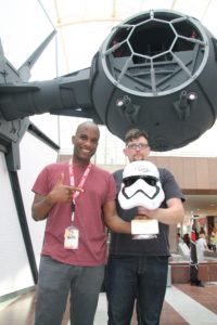 Phoenix James - Star Wars - First Order Stormtrooper Actor and Guest of Honor at CosDay Convention in Frankfurt Germany in conjunction with ProjectX1 and the 501st German Garrison 10