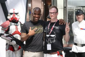 Phoenix James - Star Wars - First Order Stormtrooper Actor and Guest of Honor at CosDay Convention in Frankfurt Germany in conjunction with ProjectX1 and the 501st German Garrison 11