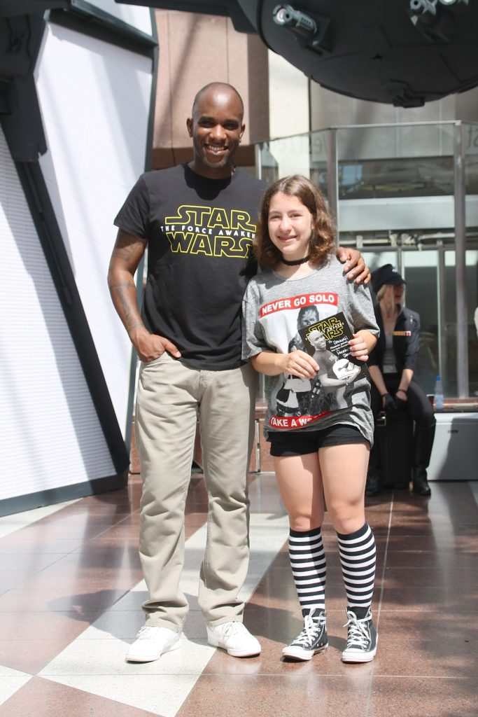 Phoenix James - Star Wars - First Order Stormtrooper Actor and Guest of Honor at CosDay Convention in Frankfurt Germany in conjunction with ProjectX1 and the 501st German Garrison 14