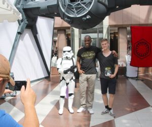 Phoenix James - Star Wars - First Order Stormtrooper Actor and Guest of Honor at CosDay Convention in Frankfurt Germany in conjunction with ProjectX1 and the 501st German Garrison 15